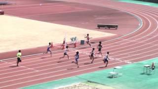 2017静大春季サーキット 男子100m 34組~36組