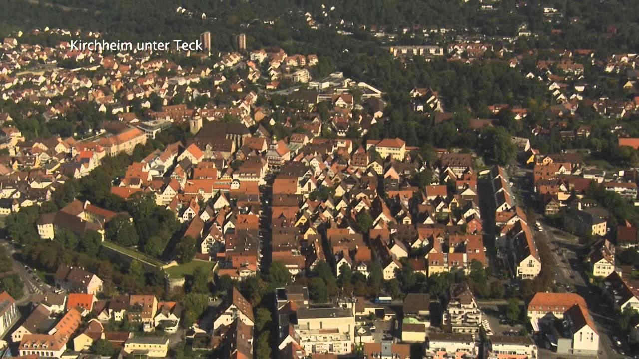 Luftportrait Kirchheim unter Teck  YouTube