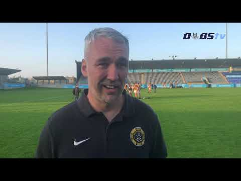 Naomh Mearnóg manager Gary Deloughry speaks to DubsTV after Dublin Intermediate Final win