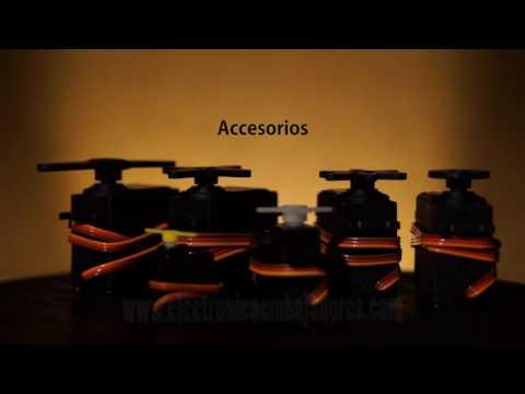 SERVOMOTORES Y CONTROLADORA USB MAESTRO