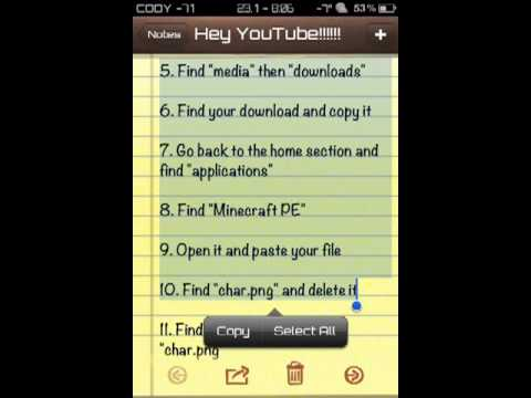 iGun/Minecraft pe hacks!!!! - YouTube
