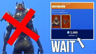 DONT BUY THIS SKIN... Fortnite ITEM SHOP [September 11] | Kodak wK