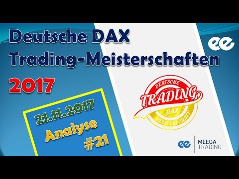 Dax Analyse 21.11.2017 - Deutsche Dax Trading Meisterschaften - Marcus Klebe