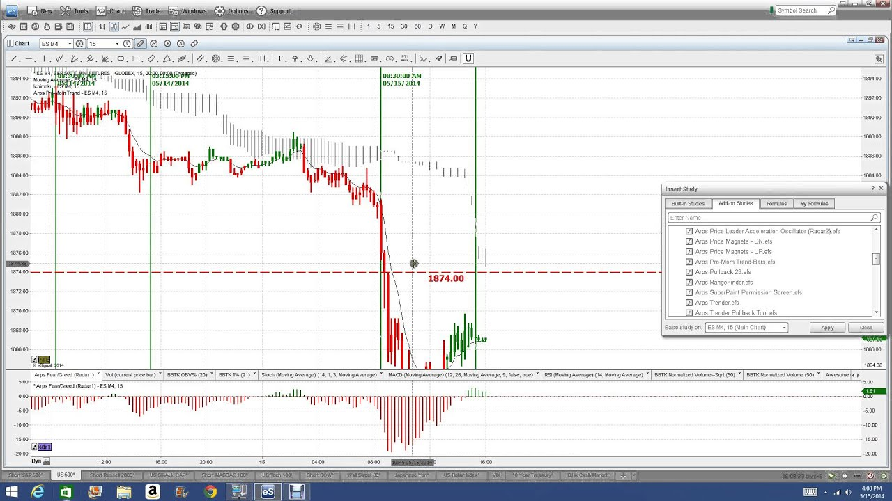 Forex management features
