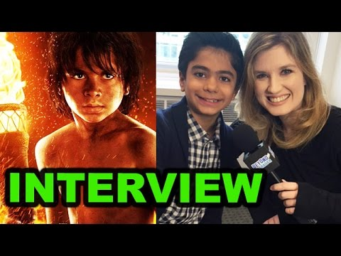 Neel Sethi Interview - The Jungle Book 2016