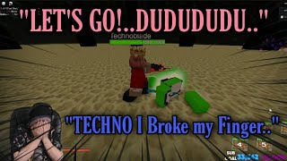 Technoblade PLAYS ROBLOX!...