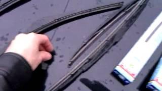 Замена щеток стеклоочистителя на Ford Fusion.3gp