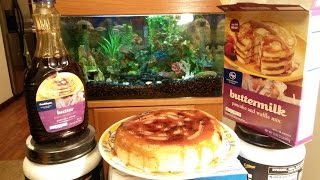 How To Make A Huge Bacon Blueberry Pancake With A Rice Cooker