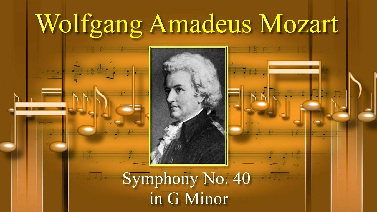 Mozart -  Full  Symphony No  40 In G Minor  K  550 - High Quality Classical Music