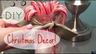 DIY Christmas Decorations! ♡ | rileyalex Thumbnail