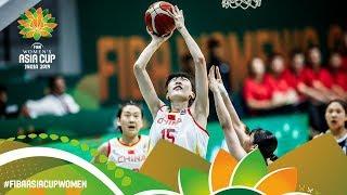 China v Korea - Full Semi-Finals Game - FIBA Women's Asia Cup 2019