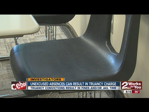 Unexcused Absences May Result In Truancy Charge
