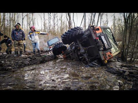 Новый маршрут не дался) jeep перевернулся) Машины начали ломаться