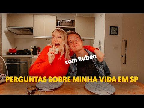 RESPONDENDO PERGUNTAS SOBRE MINHA VIDA EM SP