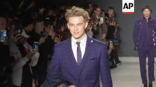 At Men's Fashion Week, designer Nick Graham turns out Mars-themed collection with guests Buzz A