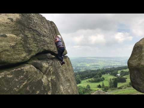 Climbing & abseiling in Ilkley
