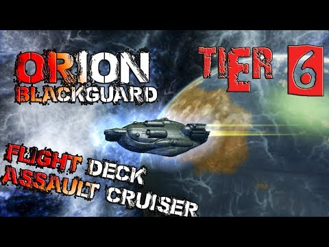 Orion Blackguard Flight Deck Assault Cruiser [T6] – with all ship visuals - Star Trek Online