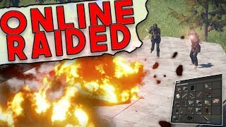 Video I Got ONLINE RAIDED!! | Rust SOLO SURVIVAL Gameplay download MP3, 3GP, MP4, WEBM, AVI, FLV Desember 2017