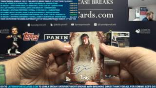 PART 1 - SB SQUARES – 2016 Topps The Walking Dead Survival Box 8 Box Case Break #4 – RANDOM HITS