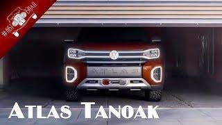 видео VW Atlas Cross Sport на нью-йоркском автосалоне 2018