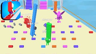 Bridge Race - All Levels Gameplay Android,ios (Levels 12-14) screenshot 5