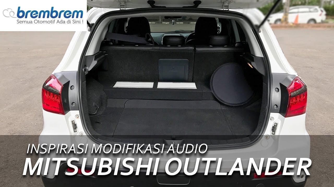 Inspirasi Modifikasi Audio Mitsubishi Outlander