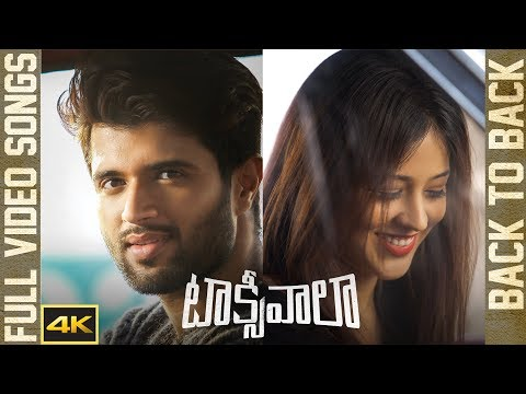 Taxiwaala Back To Back Video Songs || 4K || Vijay Deverakonda || Priyanka Jawalkar || Geetha Arts