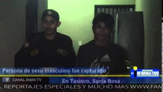 Capturan A Persona En Taxisco, Acusada De Agresión Física.