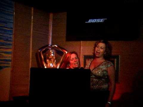 Chrissy and Stacy Karaoke