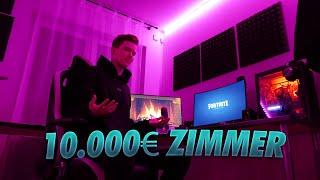 mein 10.000€ GAMING ZIMMER mit 15 Jahren..!