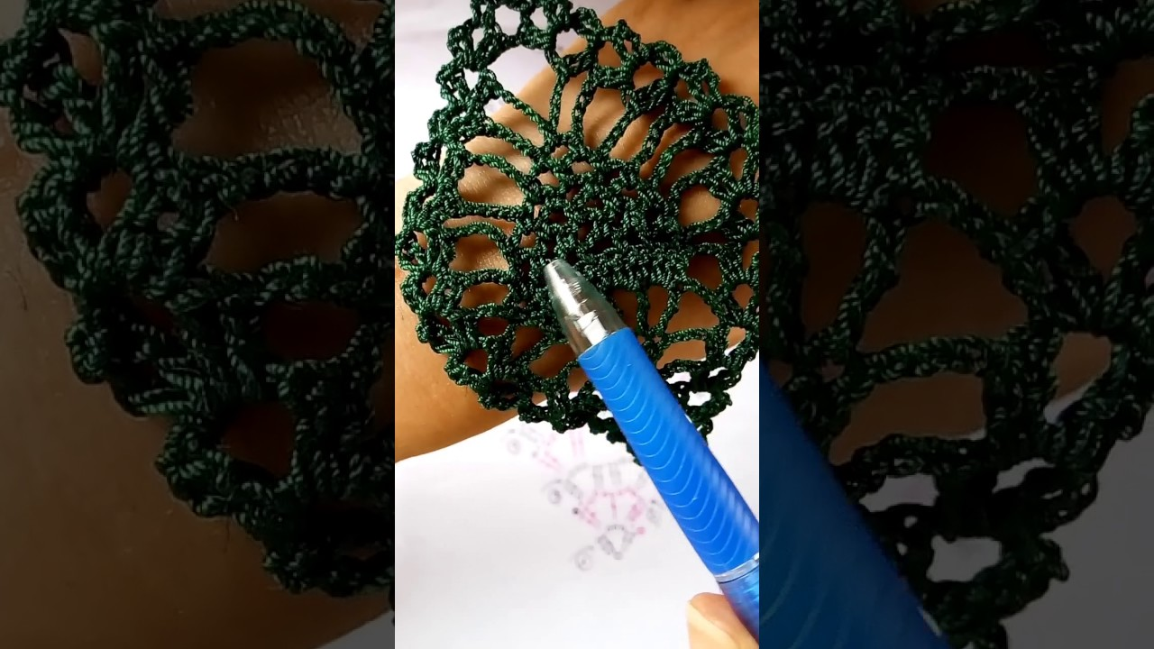 How to read crochet diagrams pineapple earrings youtube how to read crochet diagrams pineapple earrings ccuart Gallery