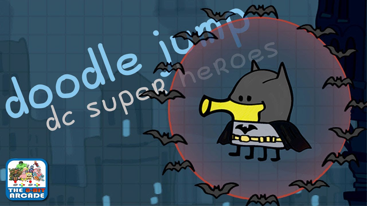 Doodle Jump Dc Super Heroes Batman Scares Off The Scarecrow Ios