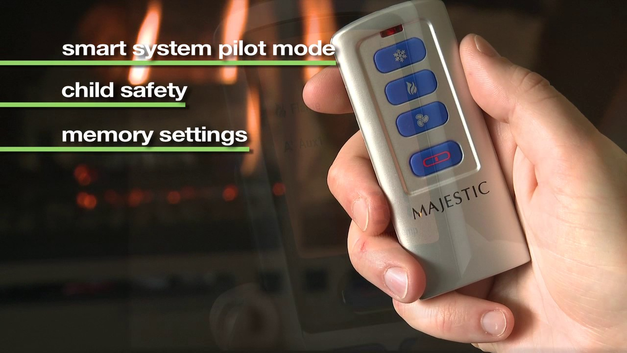 majestic intellifire touch ignition system youtube