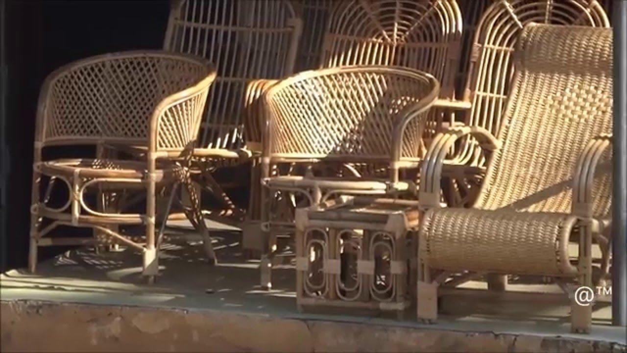 Cane Furniture - YouTube for Bamboo Furniture Kerala  29dqh