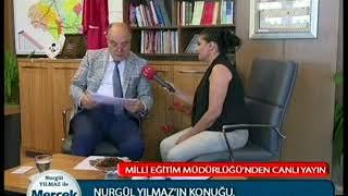 Nurgül yılmaz ile Mercek Altı   Milli Eğitim Müdürü Recep Dernekbaş