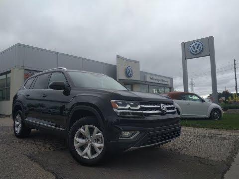 First Review of the All New 2018 Volkswagen Atlas At Volkswagen Waterloo!