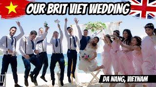 Gary & Quynh - British Vietnamese Wedding - Da Nang, Vietnam (HardSub)