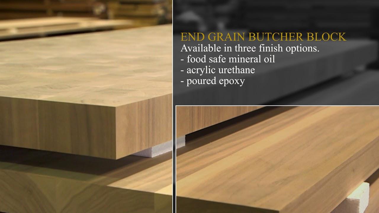 End Grain Butcher Block Countertops Hardwood Lumber Company