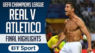 Real Madrid 1-1 Atletico Madrid (5-3 pens): UEFA Champions League Final 2016 | Highlights and Goals