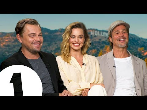 """Just ****ing do it!"" Leonardo DiCaprio, Brad Pitt & Margot Robbie on Tarantino's Hollywood."