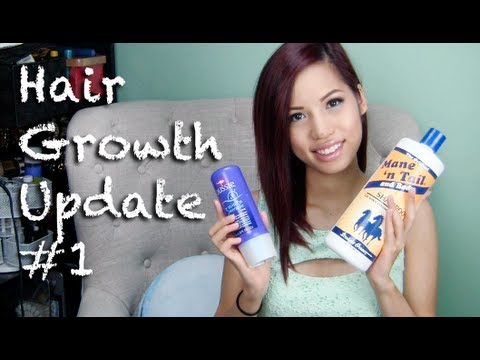 Hair Growth Update #1 + Products I've Been Using
