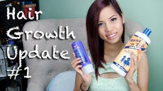 Hair Growth Update #1 + Products I