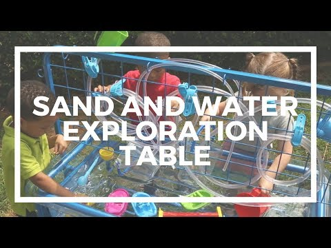 Sand and Water Exploration Table | Kaplan Early Learning Company