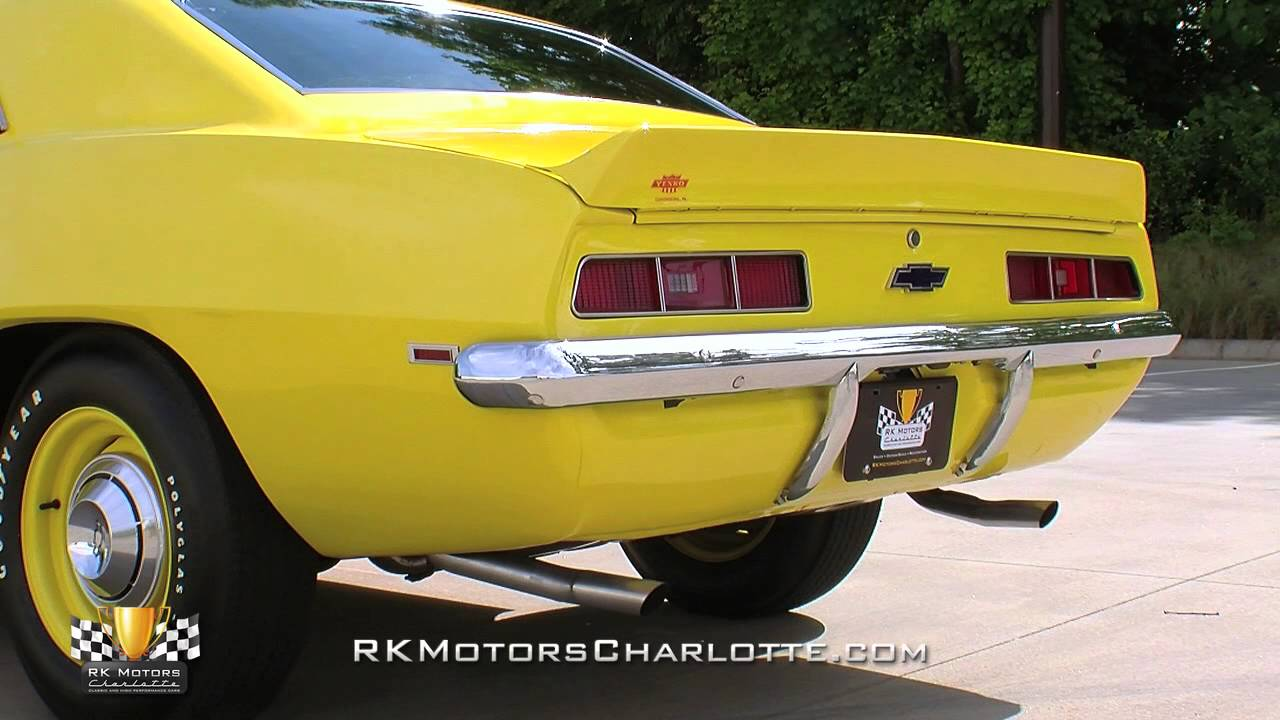 134233 1969 chevrolet camaro copo youtube. Cars Review. Best American Auto & Cars Review
