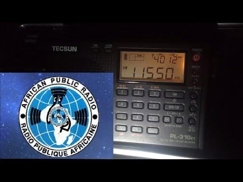Tecsun PL-310ET: Radio Publique Africaine 11550 kHz, Talata-Volonondry, Madagascar