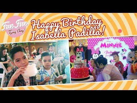 [Fun Fun Tyang Amy] Happy Birthday, Isabella Padilla!