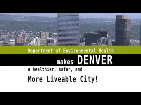 Agency Recognition - Denver's Department of Environmental Health