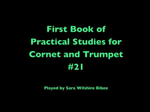 Getchell Hovey First Book of Practical Studies for Cornet or Trumpet #21