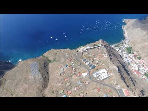 St Helena Island from the lens of a Drone in HD