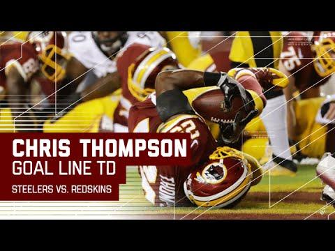 Vernon Davis Bounces Off Defenders & Sets Up a Chris Thompson TD! | Steelers vs. Redskins | NFL